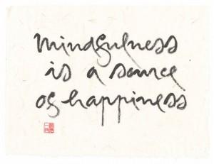 mindfulness source de joie